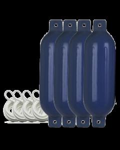 Fender 4er Set L (60cm|blau)