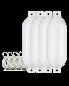 Fender 4er Set L (60cm|Weiß)