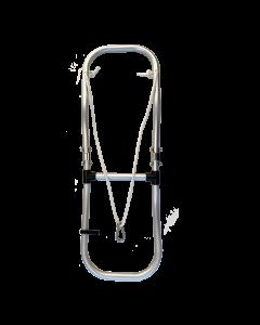 2-stufige Schlauchbootleiter- Badeleiter