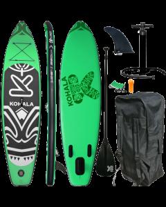 320 Kohala SUP - Stand Up Paddle Surfboard I 320x81x15cm   grün