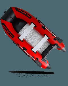 4,30 Meter North Motors Schlauchboot mit Aluboden (Rot)