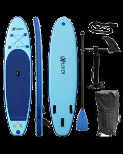 320 eXplorer SUP - Stand Up Paddle Surfboard I 320x76x15cm   blau